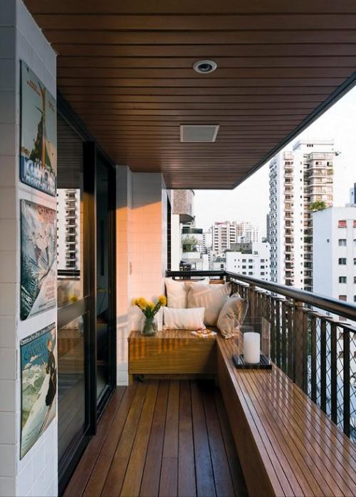 Foto Desire to inspire - Deck-uri de lemn pentru spatii exterioare pot fi montate si intr-un balcon