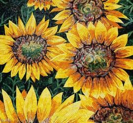 Mozaic din sticla - VETRO Yellow - Mozaic din sticla VETRO