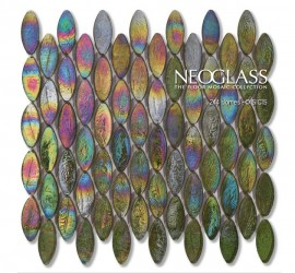 Mozaic din sticla NEOGLASS 244 Domes - Mozaic din sticla NEOGLASS