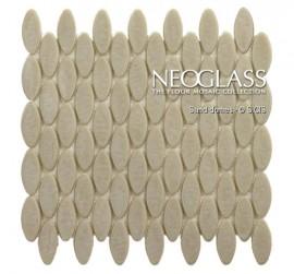 Mozaic din sticla NEOGLASS Sand Domes - Mozaic din sticla NEOGLASS