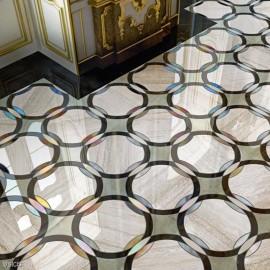 Mozaic din marmura - SICISTONE Brown - Mozaic din marmura - SICISTONE
