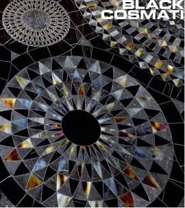 Mozaic din marmura COSMATI Black - Mozaic din marmura - COSMATI