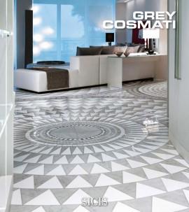 Mozaic din marmura COSMATI Grey - Mozaic din marmura - COSMATI