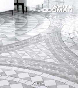 Mozaic din marmura COSMATI White - Mozaic din marmura - COSMATI