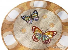 Mozaic din marmura - PAPILLONS R1502 - Mozaic din marmura - PAPILLONS
