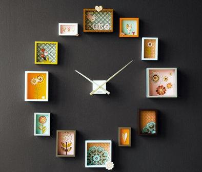 Foto via www.homegoods.com - - Ceasuri creative, o parte dintre acestea usor de facut de catre fiecare