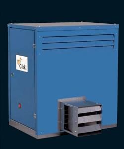 Generator de aer cald cu capacitate mica - TECNOCLIMA CIKKI - Generatoare de aer cald cu capacitate mica - TECNOCLIMA