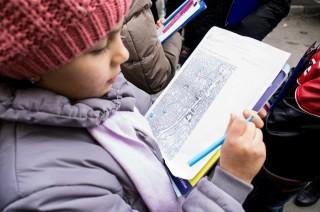 """Scoala Sf Silvestru - Cu elevii de la scoala Sf. Silvestru in expeditie """"de lucru"""" prin Bucuresti"""