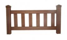 Gard din lemn WPC - Garduri din lemn plastifiat WPC