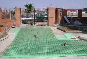 Sistem de degivrare pentru terase, alei, trepte - Degivrare terase, alei pietonale, alei auto, rampe auto, trepe, parcari, trotuare