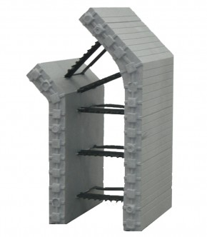 Cofraje standard MARC 45° colt de bloc St-Dr - Cofraje standard