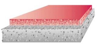 Pardoseala turnata continua Qualitop Color HP - Pardoseli industriale: Betoane elicopterizare (intaritori de suprafata)