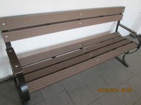 Bancuta din lemn WPC - Mobilier urban din material compozit WPC