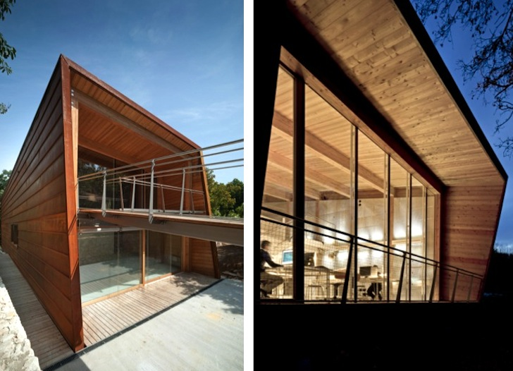 Tvzeb6 - Casa eficienta energetic, ce respecta natura in care a fost construita