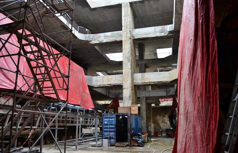 Foto www magistrala5 ro - Lucrari in subteran de cea mai mare avengura de pana acum