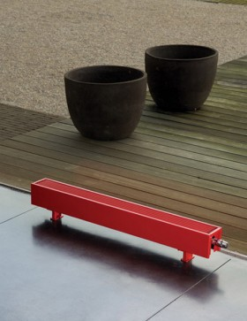 Calorifere de plinta cu picioruse - Mini Free Standing - Radiatoare cu inaltime mica - MINI LOW H2O