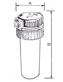 Filtru FCR 35 cu cartus - Filtre de apa pentru uz casnic