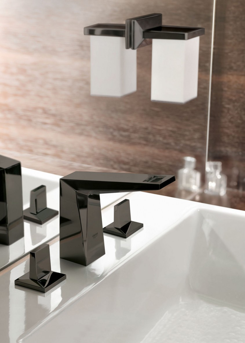 GROHE Allure Brilliant SuperBlack - Bucuria Pura a Apei in 1.200 metri patrati