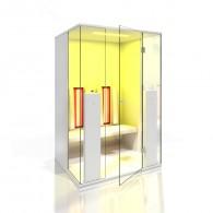 Cabina cu infrarosu b-intense - Terapia prin culoare