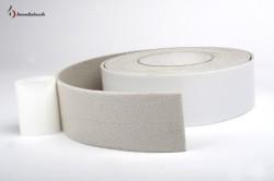 Banda adeziva polietilena de culoare alba - Benzi adezive si garnituri - BANDATECH