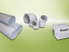 Invelis cu folie PVC Okapak - Izolatii termice pentru instalatii - ARMACELL