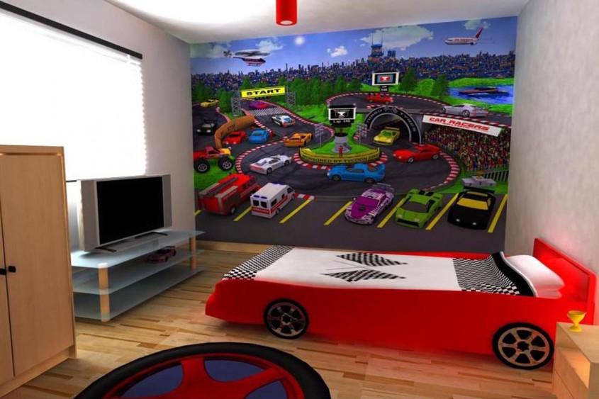 Foto via www.home-designing.com - Camere in care ar incapea si o masina...