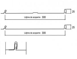 Tabla prefaltuita Plannja EMK Click 300 - Tabla prefaltuita Plannja EMK Click 300