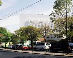 Spitalul Manuel Gea Gonzalez4 - Fatada spitalului Manuel Gea Gonzalez