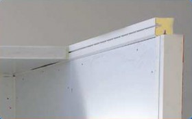 Sistem de  intersectie panou/margine - Dotari camere frigorifice