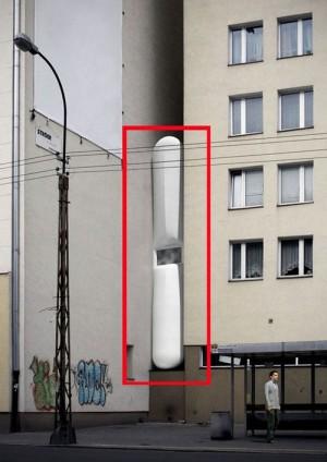 Foto via www.detail-online.com - Cum se umple un gol intre cladiri? Cu o casa pe verticala