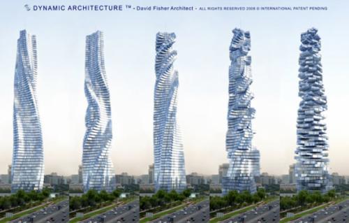 Turnurile rotitoare din Dubai - Rotative Towers, Dubai