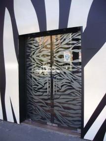 Usi din sticla securizata Club Zebra - Sticla securizata 2