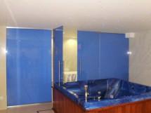 Perete din sticla securizata colorata Hotel Minerva - Sticla securizata 3