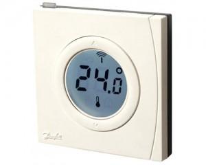 Senzor electronic pentru masurarea temperaturii camerei Danfoss Link RS - Termostate