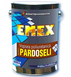 Vopsea poliuretanica pentru pardoseala EMEX - Vopsea poliuretanica pentru pardoseala EMEX