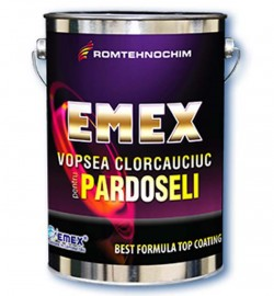 Vopsea clorcauciuc pentru pardoseli EMEX - Vopsea clorcauciuc pentru pardoseli si trafic EMEX