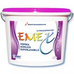 Vopsea acrilica superlavabila Emex - Vopsea acrilica superlavabila Emex