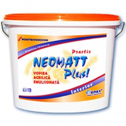 Vopsea acrilica NEOMATT PLUS - Vopsea acrilica NEOMATT PLUS