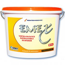 Vopsea lavabila silicatica interior EMEX - Vopsea lavabila silicatica interior EMEX