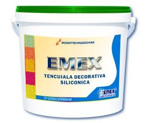 Tencuiala decorativa siliconica Emex - Tencuiala decorativa siliconica Emex