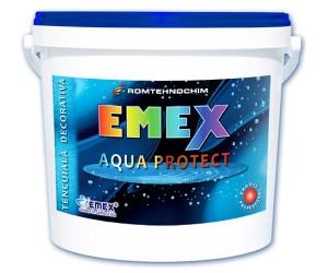 Tencuiala decorativa impermeabila  Emex Aqua Protect - Tencuiala decorativa impermeabila Emex Aqua Protect