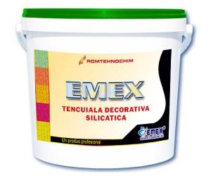Tencuiala decorativa silicatica Emex - Tencuiala decorativa silicatica Emex