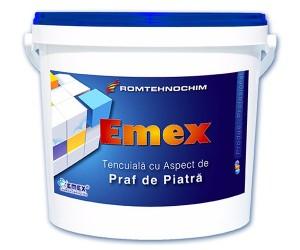 Tencuiala decorativa granulata cu aspect de praf de piatra Emex - Tencuiala decorativa granulata cu aspect de praf de piatra Emex