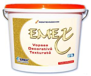 Vopsea decorativa texturata Emex - Vopsea decorativa texturata Emex