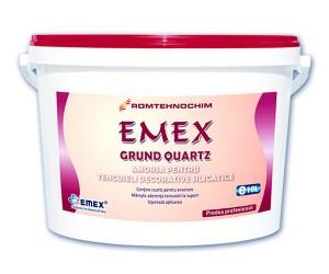 Grund silicatic de amorsare cu cuart pentru tencuieli Emex - Grundul silicatic de amorsare cu cuart pentru tencuieli Emex