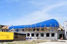 Proiect acoperis Aeroport Baneasa - Montaj invelitori