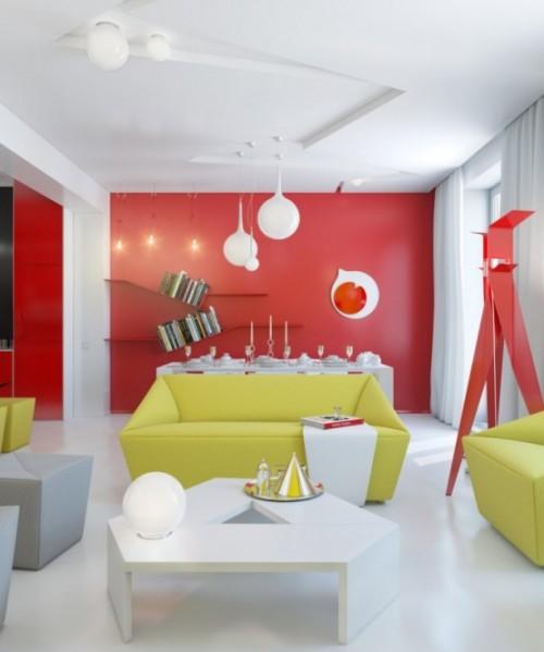 """Anna Marinenko a folosit materialele moderne si reflexiile pentru a """"lumina"""" culorile deja vii - Anna Marinenko a folosit materialele moderne si reflexiile pentru a """"lumina"""" culorile deja vii"""