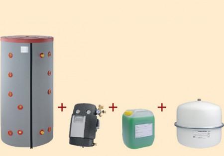 Seturi solare pentru apa calda menajera si aport la incalzire - BRAMAC - Seturi solare