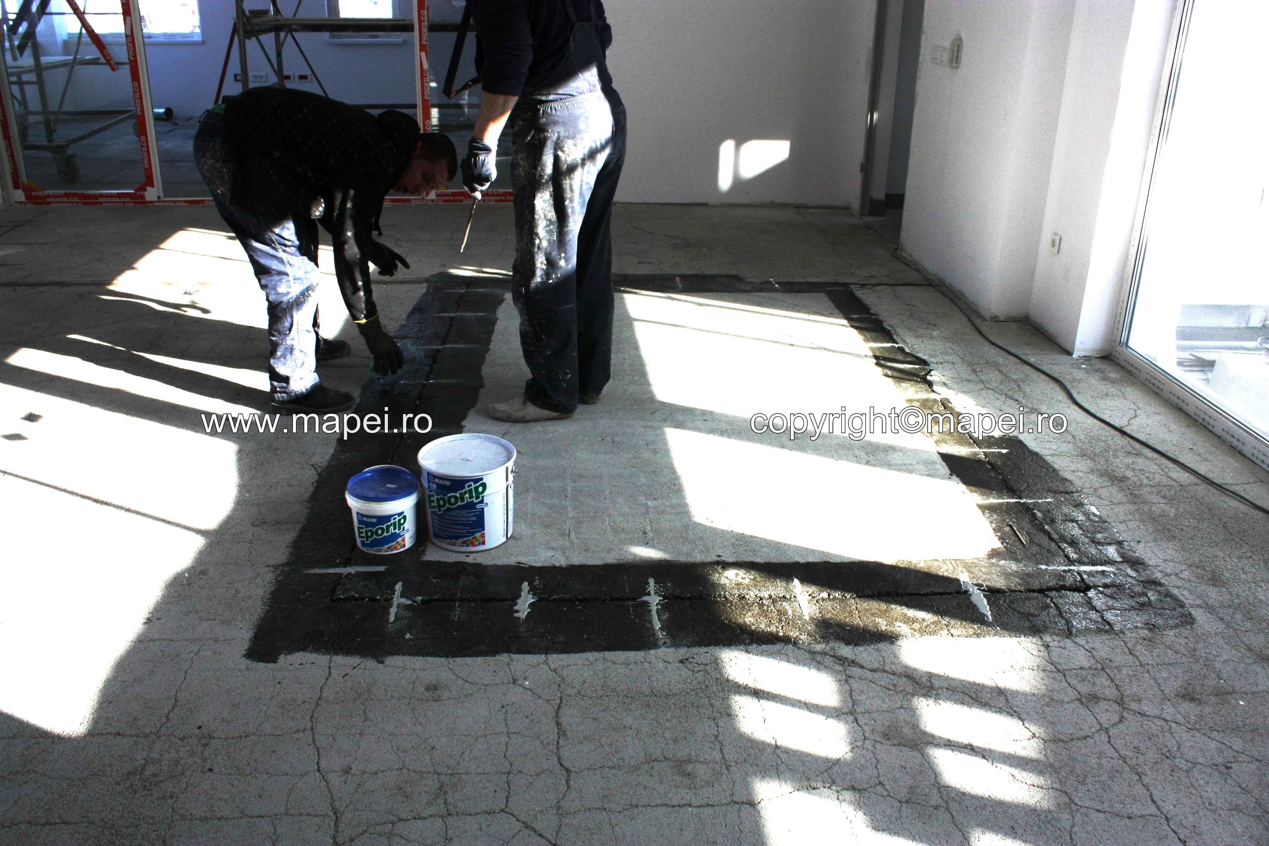 foto 13 - reparatii si consolidari sapa detaliu pardoseala - Galerie 4