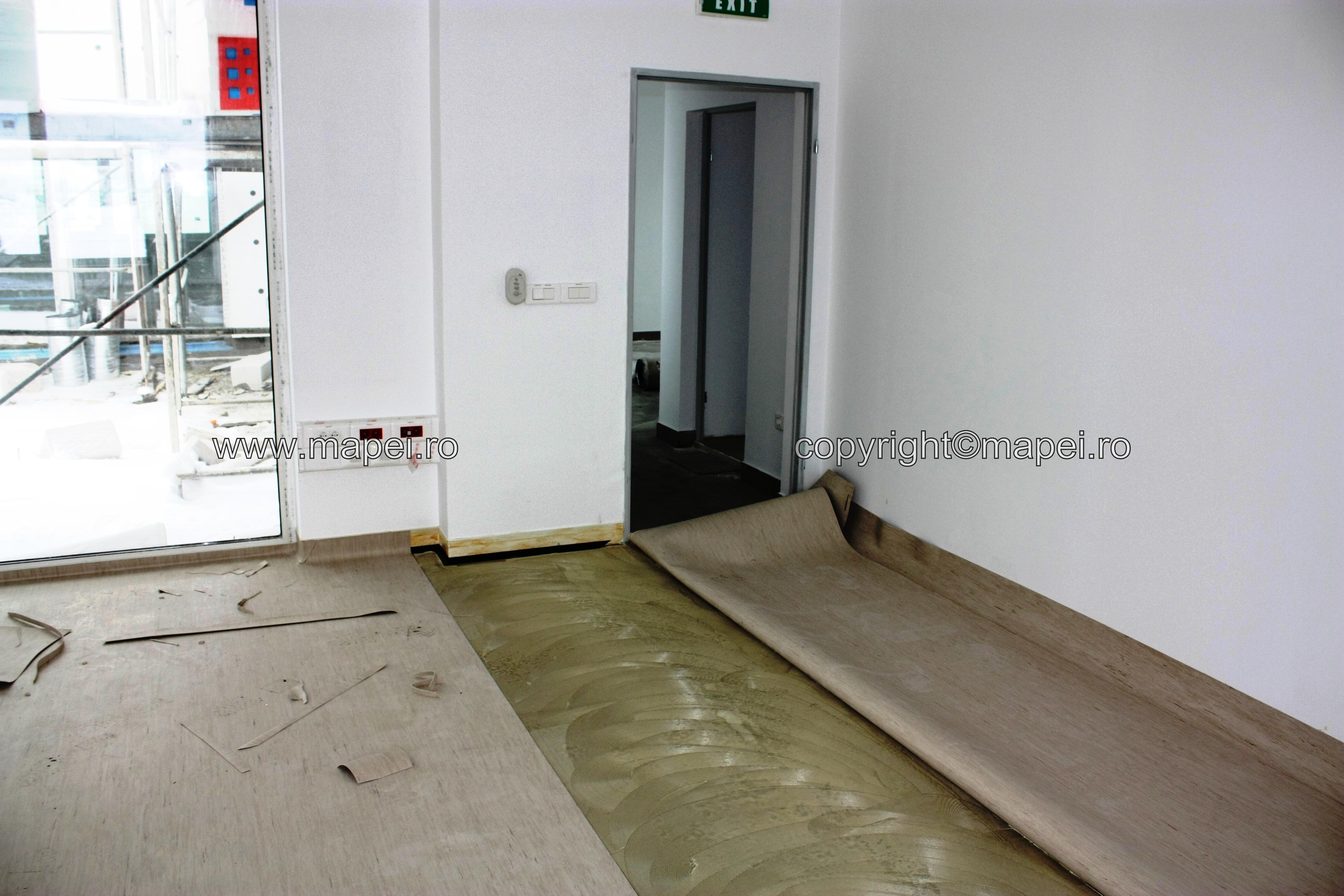 foto 31 - montaj PVC pe sapa autonivelanta - Galerie 7